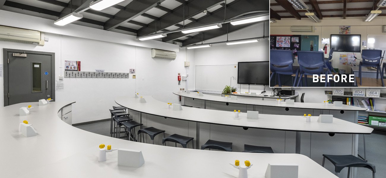 Holmfirth High School Science Lab Refurbishment