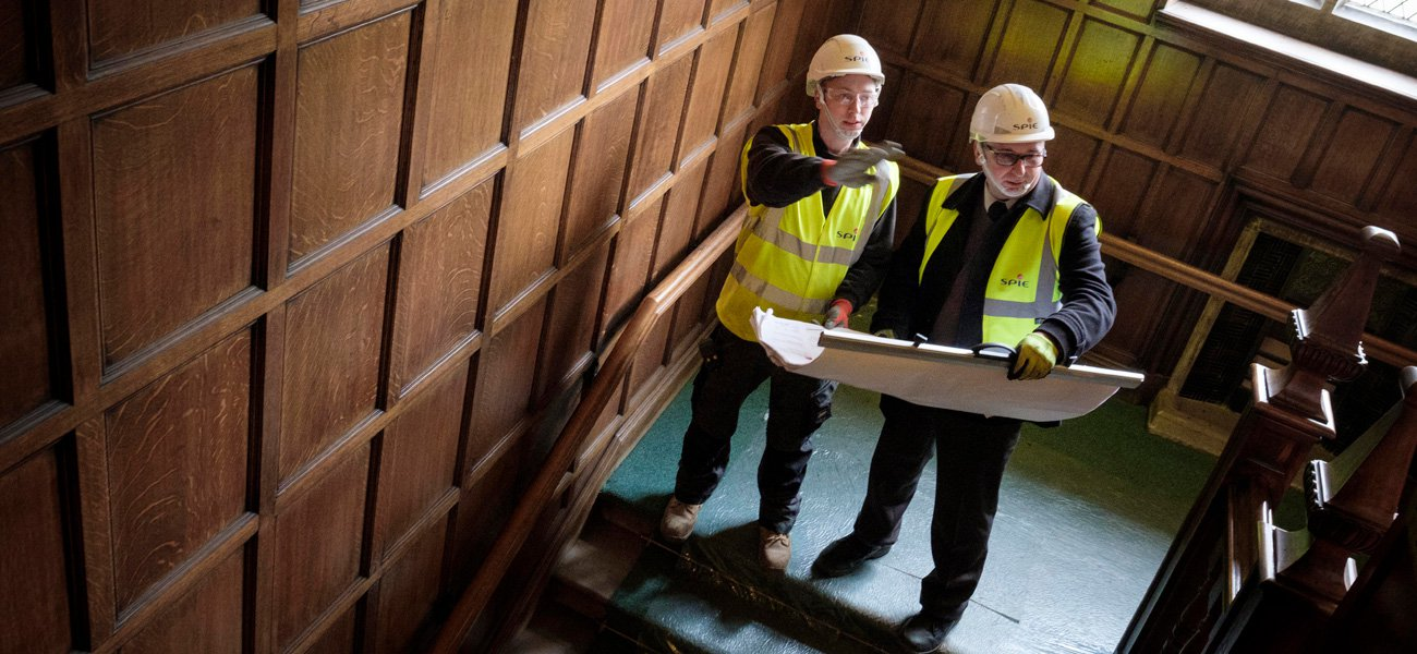 Refurbishing Smithills Hall